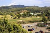 Territory of Porto Carras Grand Resort. — Stock Photo