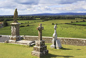 Ancient cemetery in the Rock of Cashel. — Stock Photo