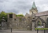 Collegiate Church of St. Nicholas in Galway — Stock Photo