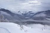 Rosa Khutor Alpine Ski Resort — Stock Photo