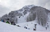 Rosa Khutor Alpine Resort — Stock Photo