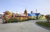 Sochi Park - parque temático — Fotografia Stock
