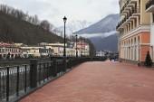 Rosa khutor альпийский курорт — Стоковое фото