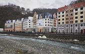 New Hotels in Rosa Khutor Alpine Resort — Stock Photo