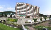 Sanatorium Altai-West in the resort Belokurikha. — Stock Photo