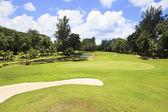 Constance Lemuria Resort güzel golf sahası. — Stok fotoğraf