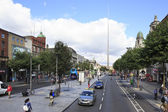 Spire of Dublin in O Connell Street — Stock Photo