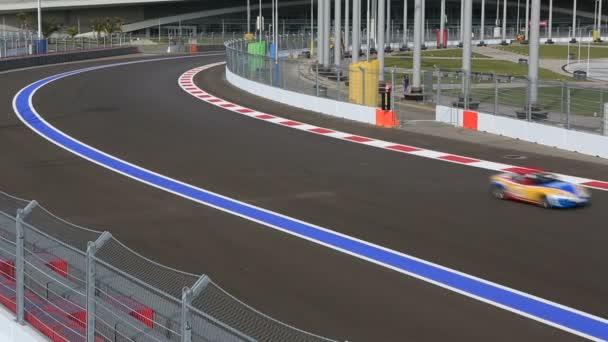 Circuito de calle internacional de Sochi. — Vídeo de stock