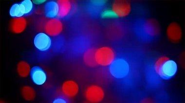 Defocused Light Reflections — Stock Video