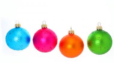 Christmas Balls — Stock Video