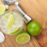 Classic margarita cocktail — Stock Photo #51973521