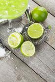 Classic margarita cocktail — Stock Photo