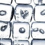 Melting ice cubes — Stock Photo #52438647