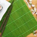������, ������: Sushi maki set and green tea
