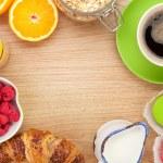 Healthy breakfast — Stock Photo #52860519