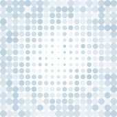 Dotted blue background — Stock Vector