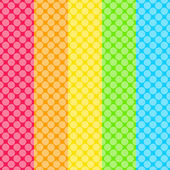 Abstract dotted colorful background — Stock Vector