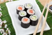 Sushi maki set — Stock Photo