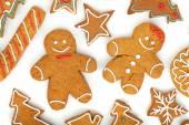Christmas gingerbread cookies — Stock Photo