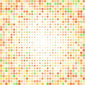 Abstract dotted colorful background — Vetorial Stock