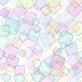 Abstract square geometric colorful background — Vector de stock