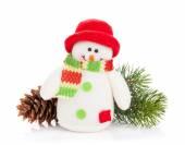 Jouet de bonhomme de neige — Photo