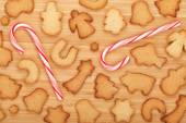 Various gingerbread cookies — Stock Photo