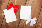 Valentines day greeting cards or photo frames — Stock Photo