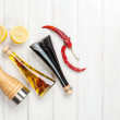 Condiments and spices set — Stock Photo #66474153
