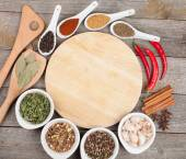Herbs and spices set — Stock Photo