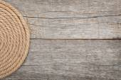 Roll of ship rope — Photo