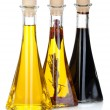 Olive oil and vinegar bottles — Stock Photo #69588805