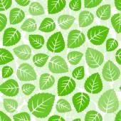Motif feuilles sans soudure — Vecteur