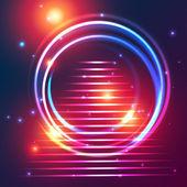 Space portal — Stock Vector