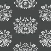 Floral retro paper pattern — Stock Vector