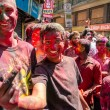 Holi festival in Nepal — Stock Photo #55357141