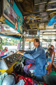 Bus  driver in THAILAND — Stock Photo