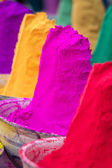 Powdered dyes  for Holi festival — Foto Stock