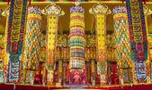 Buddhist temple in Namdroling Monastery — Zdjęcie stockowe
