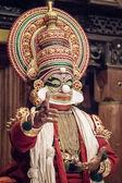Kathakali ancient performer — Stock Photo