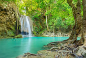 Beautiful Erawan Waterfall — Stock Photo