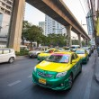 Colorful cars taxi — Stock Photo #73541105