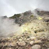 Sibayak volcano near Berastagi — Stock Photo