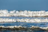 Waves during windy day — Stock Photo