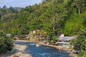 Bukit lawang village — Stock Photo
