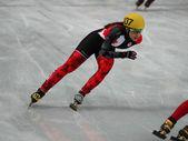 Ladies' 3000 m Heats Short Track Relay — Stock Photo