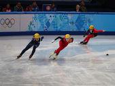 Ladies' 3000 m Heats Short Track Relay — ストック写真