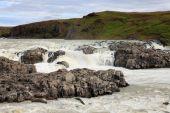 Urridafoss waterfall — Stock Photo