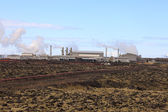Geothermal power station. — Stock Photo