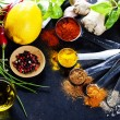 Herbs and spices selection — Stock Photo #56056759